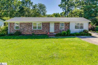 Travelers Rest Single Family Home Contingency Contract: 7 Cadillac