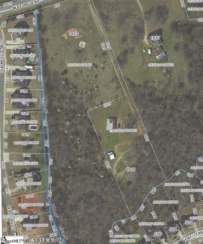 Simpsonville Residential Lots & Land For Sale: 1823 W Georgia