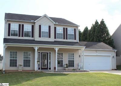 Mauldin Single Family Home For Sale: 419 Peach Grove