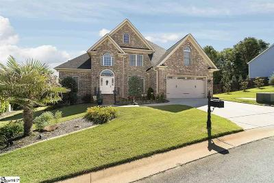 Simpsonville Single Family Home For Sale: 142 Palm Springs