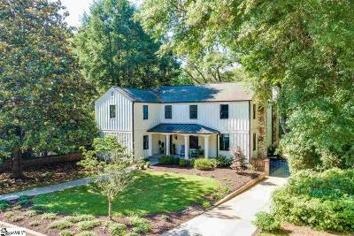 Greenville SC Single Family Home Contingency Contract: $1,200,000