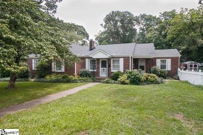 Simpsonville Single Family Home For Sale: 414 E Curtis