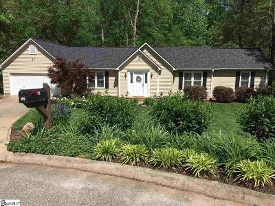 Greenville County Single Family Home For Sale: 105 Saint Charles