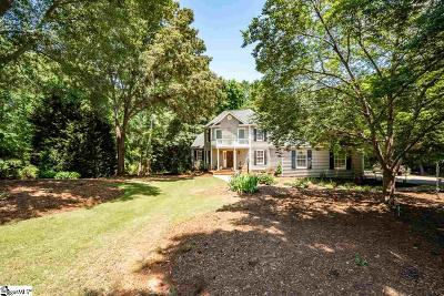 Spartanburg Single Family Home For Sale: 221 Creekridge