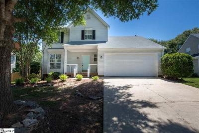 Simpsonville Single Family Home For Sale: 11 Wingcup