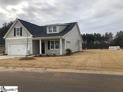 Piedmont Single Family Home For Sale: 105 Arbor Woods