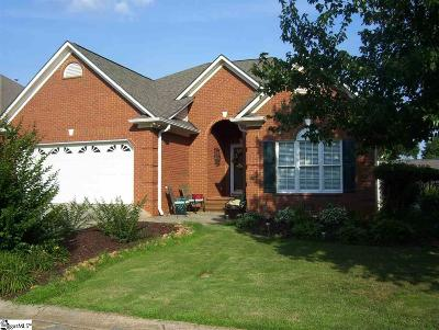 Greer Single Family Home For Sale: 6 Foxfield