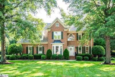 Simpsonville Single Family Home For Sale: 9 Squires Meadow