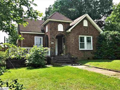 Easley Single Family Home For Sale: 202 S 5th