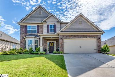 Simpsonville Single Family Home For Sale: 412 Plamondon