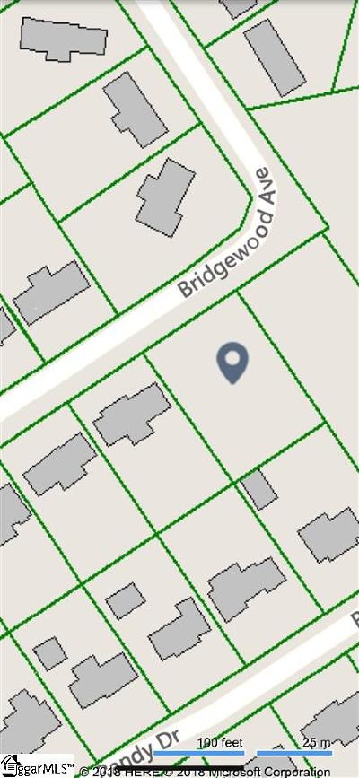 Taylors Residential Lots & Land For Sale: 16 Bridgewood