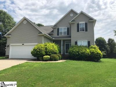Simpsonville Single Family Home For Sale: 111 Thurber