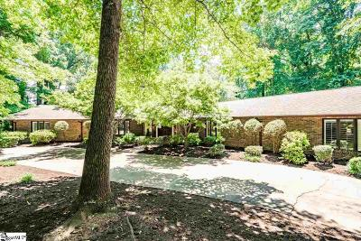 Greenville Single Family Home For Sale: 414 Foot Hills