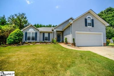 Simpsonville Single Family Home For Sale: 6 Halehaven