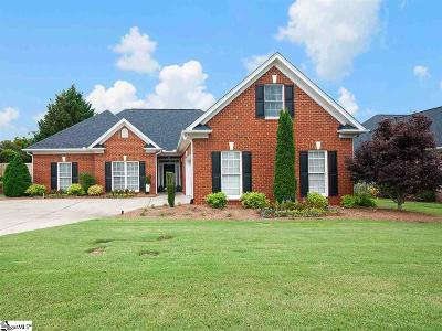 Greenville Single Family Home For Sale: 100 Audrey