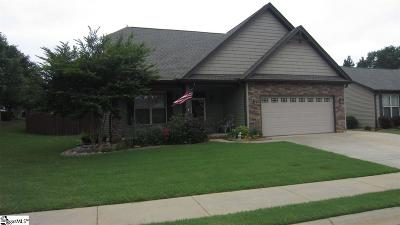 Taylors Single Family Home For Sale: 1 Summerdale