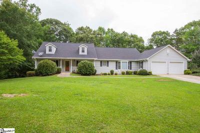 Anderson Single Family Home For Sale: 105 Secession