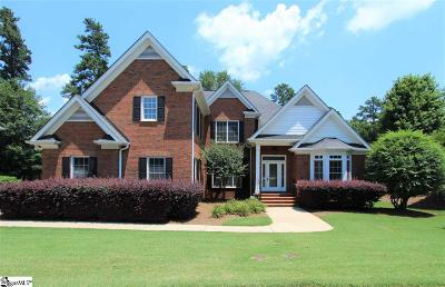 Simpsonville Single Family Home For Sale: 100 Weatherstone