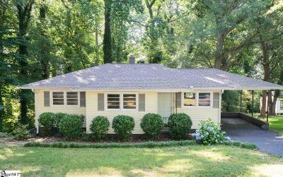 Greenville County Single Family Home For Sale: 133 Crosby