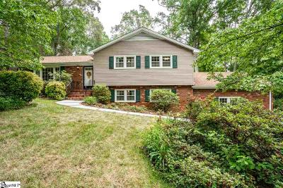 Greenville Single Family Home For Sale: 111 Bexhill
