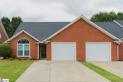 Simpsonville Condo/Townhouse For Sale: 137 Dove Haven