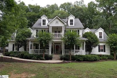 Simpsonville Single Family Home For Sale: 600 Jonesville