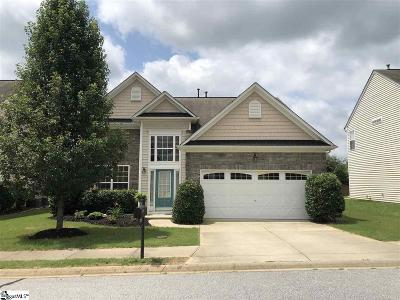 Simpsonville Single Family Home For Sale: 206 Bells Creek