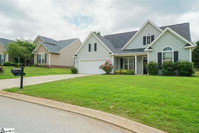Simpsonville Single Family Home For Sale: 3 Glenlocke