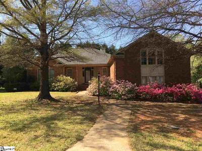 Simpsonville Single Family Home For Sale: 105 Linwood