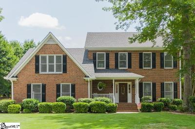 Simpsonville Single Family Home For Sale: 203 Millstone