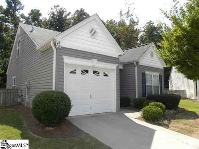 Easley Single Family Home For Sale: 119 Ledgewood