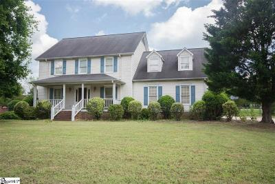 Easley Single Family Home For Sale: 112 Sun Chase