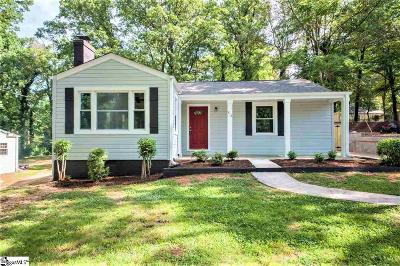 Greenville Single Family Home For Sale: 414 Potomac