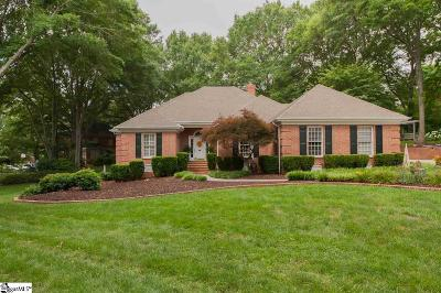 Simpsonville Single Family Home For Sale: 11 Bramblewood