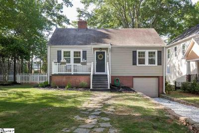 Augusta Road Single Family Home Contingency Contract: 5 Waverly