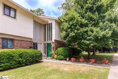 Greenville Condo/Townhouse For Sale: 54 Briarrun