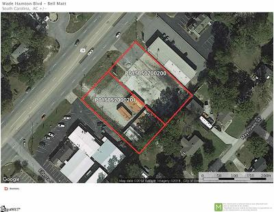 Taylors Residential Lots & Land For Sale: 3010/4053 Wade Hampton