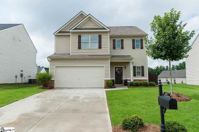 Woodruff Single Family Home For Sale: 887 Wild Orchard