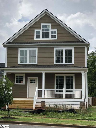 Greenville Single Family Home For Sale: 803 Anderson