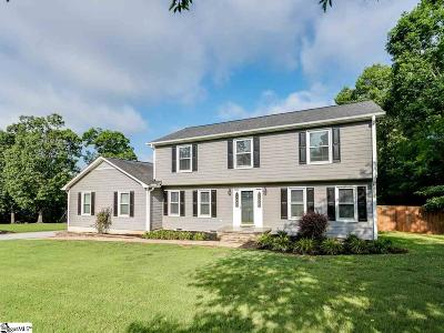 Spartanburg Single Family Home Contingency Contract: 438 Maplecroft