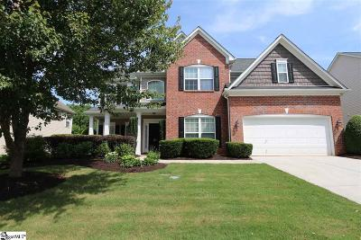 Simpsonville Single Family Home For Sale: 204 Wild Meadow