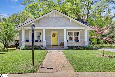 Greenville Single Family Home For Sale: 104 Ladson