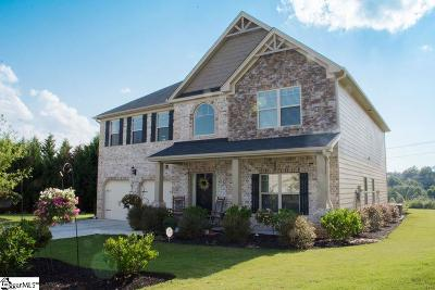 Easley Single Family Home For Sale: 108 Cantle