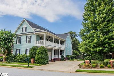 Greenville Single Family Home For Sale: 313 Newfort