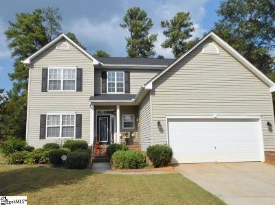 Mauldin Single Family Home For Sale: 1 Natchez