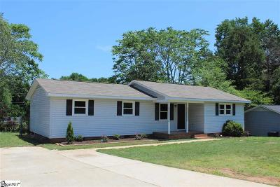 Simpsonville Single Family Home For Sale: 109 Faunawood