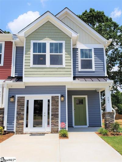 Spartanburg Condo/Townhouse For Sale: 201 Keaton