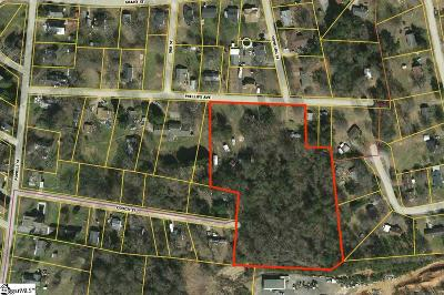 Easley Residential Lots & Land For Sale: Phillips