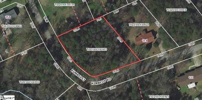Taylors Residential Lots & Land For Sale: Kenndy