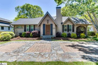 Greenville Single Family Home For Sale: 2646 Augusta